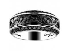 ZANCAN Gotik Silver Ring EXA145