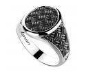 ZANCAN Cosmopolitan Silver Ring EXA170